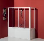Шторка на ванну Kolpa-San Orion TV/4D 180 +TSv 80