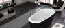 Ванна Kolpa San Adonis 180x80 FS Black & White