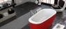 Ванна Kolpa San Adonis 180x80 FS Red & White