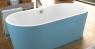 Ванна Kolpa San Comodo-FS 185x90 BLUE & WHITE