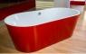 Ванна Kolpa San Comodo-FS 185x90 RED & WHITE