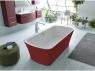 Ванна Kolpa San Marilyn-FS 180x90 Red & White