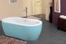 Ванна Kolpa San Siris-FS 178x88 Blue&White
