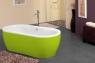 Ванна Kolpa San Siris-FS 178x88 Green&White